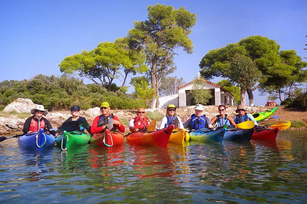 Sea Kayaking - Poros Island